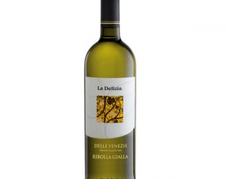 Vino Bianco-La Delizia-Ribolla Gialla-Bottiglia da 75 cl