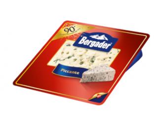 Gorgonzola Piccante Bergader Edelpitz Vaschetta da 100 Grammi
