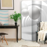 Paravento - White Tunnel [Room Dividers]-2