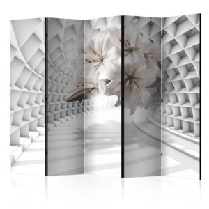 Paravento - Flowers in the Tunnel II [Room Dividers]-1