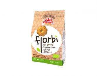 Biscotti Integrali Fiorbì Di Leo con semola di Grano Duro 280 Grammi