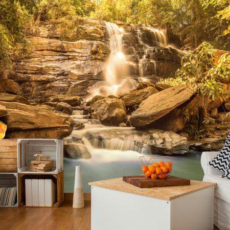 Fotomurale - Sunny Waterfall-1