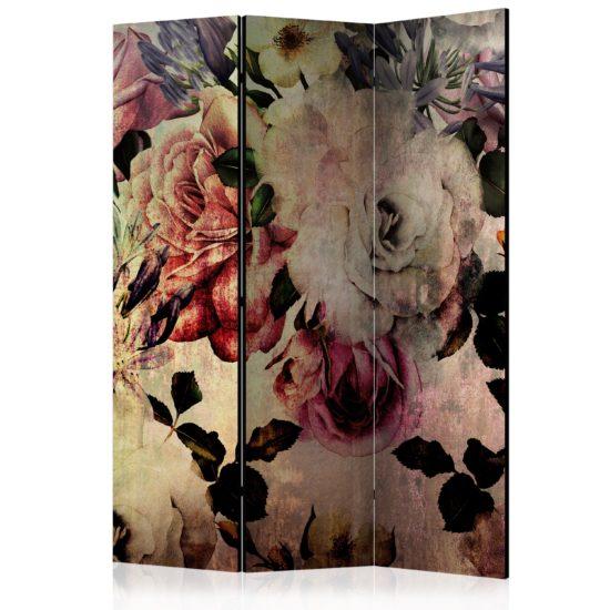 Paravento - Nostalgia Flowers [Room Dividers]-1