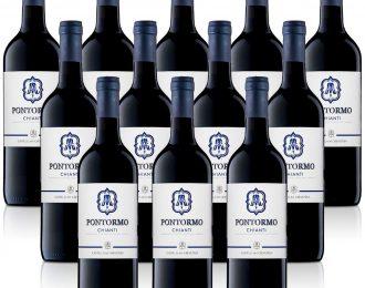 Vino Rosso Chianti DOC Pontorno cl.37,5 Conf. da 12 Bottiglia/e