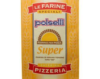 Farina Polselli Super Pizzeria Farina 00 Confezione da 25 Kg