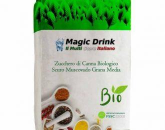 Zucchero di Canna Biologico Scuro Muscovado Grana Media