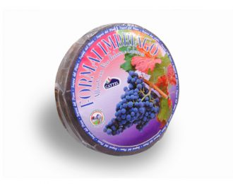 Formaggio alle Vinacce Cattel Formai Imbriago affinato con vino rosso Forma da 6,5 Kg circa
