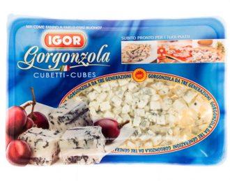 Gorgonzola Blue Cheese Igor Cubetti 500 grammi